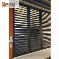 Buy cheap Outdoor Plantation Shades Shutters , Long Life Span Aluminum Jalousie Windows from wholesalers