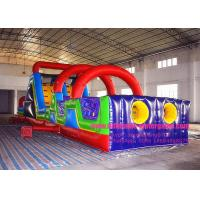 Buy cheap Custom Kids Inflatable Obstacle Course Bounce House Rental Outdoor Sports from wholesalers