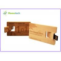 Buy cheap Custom engraving logo Wooden usb flash drive 4GB 8GB , Memory Stick Pendrive from wholesalers