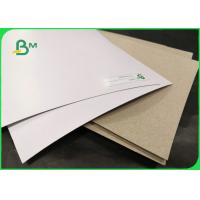 Buy cheap 250gsm 300gsm Coated Duplex Board White Surface For Shirt Lining Packaging from wholesalers