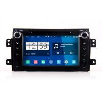 Buy cheap 82DIN HD android car dvd android 4.4.4 HD 1024*600 car DVD GPS for SUZUKI SX4 with WiFi Mirror link from wholesalers