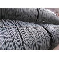 Buy cheap In Black Surface Wire Rod Coils / Hot Rolling High Carbon Steel Rod from wholesalers
