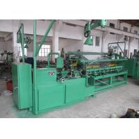 Buy cheap High Efficiency Chain Link Fence Machine Full Automatic PLC Control With Servo Motor from wholesalers