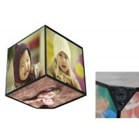 Buy cheap 360 Rotating Baby Birth Souvenirs , Six Sides Cube Box Photo Frame For Home Decoration from wholesalers