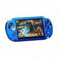 Buy cheap Electronic Handheld Game with 4.3-inch Color Display, Wide Output Interface, with MP4/MP5 Functions from wholesalers
