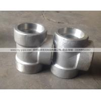 Buy cheap High quality stainless steel 45 degree pipe fitting lateral forged tee manufacture from wholesalers