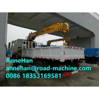 Buy cheap Chassis 12 Tons HIAB Telescopic Truck Mounted Crane 6X4 LHD Cargo Lift Heavy Duty from wholesalers