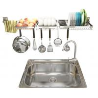 Buy cheap Wire Mesh Stainless Steel Dish Rack , Space Saving Dish Drainer Rack product