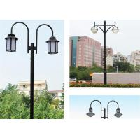 Buy cheap Europe Outdoor Style Yard Pole Lights , Durable Elegent Led Garden Lights Ductile Iron from wholesalers