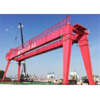 Buy cheap Double Girder 1~50T Rail Gantry Crane Safe Operating For Workshop from wholesalers