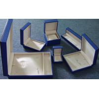 Buy cheap Wooden Jewelry Box set wrapped in paper product