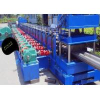 Buy cheap 2 Waves Highway Guardrail Roll Forming Machine Gear Box Drive Type 3 Phases product
