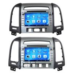 Buy cheap Car Multimedia Sat Nav For Hyundai Santa Fe Autoradio DVD Stereo VHS8013 from wholesalers