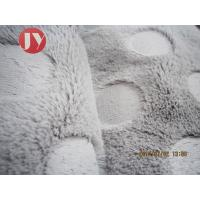 Buy cheap Clothing Plush Upholstery Fabric Cushion Home Textile PV Plush Fleece 350 Gsm from wholesalers