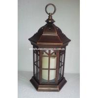 Buy cheap Home Decoration Flameless LED Candle Lantern / Decorative Lanterns with Battery from wholesalers