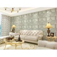 Buy cheap Christmas Decoration 3D Living Room Wallpaper , 3D Effect Wall Panels for Theatre from wholesalers