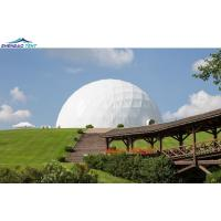 Aluminum Frame PVC Geodesic Dome Tent  for Event Party Tent