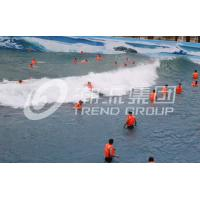 Buy cheap Biggest Outdoor Water Park Wave Pool Construction Strong Power for Outdoor Aqua Park from wholesalers