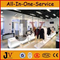Buy cheap Custom modern clothing racks glass baby shop garment display rack for kids clothes shop fu from wholesalers