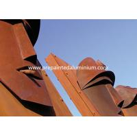 Buy cheap High Strength Corten Steel Laser Cut Panels For Sculpture Decoration / Curtain Wall from wholesalers
