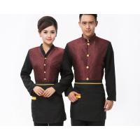 Buy cheap 5 Star Oriental Hotel Staff Uniforms Winter Wear With Long Sleeves from wholesalers
