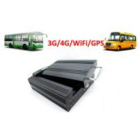 Buy cheap 4 Channels Hard Disk 4G / 3G Mobile DVR School Bus WiFi GPS G - Force from wholesalers