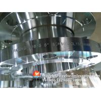 Buy cheap Stainless Steel Flange, ASTM A182 F304, F316L, F51, F53, F55, FF, RF, RTJ, SERIES A, SERIES B, CLASS150#~2500# from wholesalers