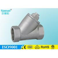 Buy cheap Dust Proof Angle Seat Valve AC 220V / 110V Voltage 50mm Actuator Diamter from wholesalers