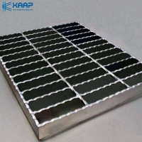 Buy cheap Serrated Welded Wire Mesh Construction Galvanized Steel Bar Grating from wholesalers