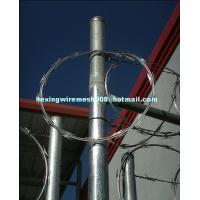 Buy cheap hot dip galvanized single coil razor blade wire from wholesalers