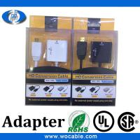 Buy cheap HDMI to VGA Cable with Audio Output VGA to hdmi converter with audio output from wholesalers