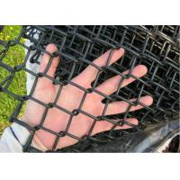 Buy cheap Hot Dipped Link Chain Fence , Dark Green Residential Chain Link Fencing from wholesalers