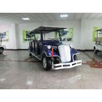 Buy cheap Blue Old Style Electric Classic Car 6 Seats 48 Voltage Battery Powered from wholesalers