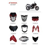 Buy cheap Motorcycle Series Accessories Headlamp Assembly Protective Cover Parts Honda CB160F from wholesalers