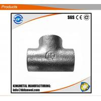 Buy cheap Best Price DIN Standard Galvanized Plain Tee Malleable Iron Pipe Fitting from wholesalers