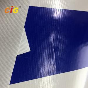 Buy cheap 500gsm 100% Pvc Flex Plastic Tarpaulin With Glass Fiber For Truck / Tent product