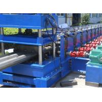 Buy cheap 3 Waves Highway Profile Steel Roll Forming Machine For Expressway Guardrail Bars Use 45Kw Motor and Hydraulic Cutting product