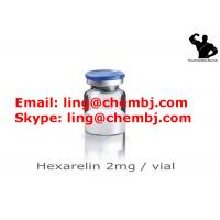 Buy cheap Fat Burning Growth Hormone Peptides Hexarelin 2mg / Vials for Anti Aging , CAS 140703-51-1 from Wholesalers