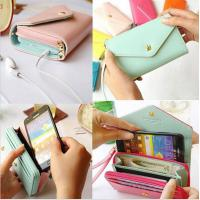 Buy cheap Universal Pouch Wallet PU Leather Cover Case iPhone 6Plus SamsungGalaxy S3 S4 S5 Note3 4 5 from wholesalers
