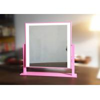 Buy cheap Double Color Portable Vanity Illuminated Makeup Mirror With  Touch Switch from wholesalers