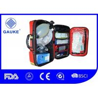 Buy cheap DIN 13155 First Aid Oxygen Kit , Portable Emergency Oxygen Kit For Ambulance from wholesalers