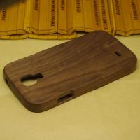 Buy cheap Black Walnut Wood Phone Cover for Samsung Galaxy S4,Walnut Wooden Case for i9500 from wholesalers