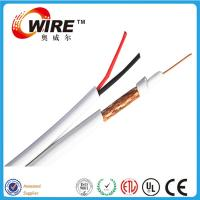 Buy cheap CCA / BC Foam PE RG59 Coax Cable , High Speed CATV Flexible Coaxial Cable from wholesalers