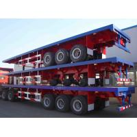 Buy cheap 60T Tri axle flat deck with dropsides | TITAN VEHICLE from wholesalers