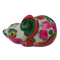 Buy cheap clay sculpture Chinese Zodiac business gift  painted mouse  birthday gift from wholesalers