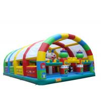 Buy cheap Sport Outdoor Inflatable Playground Custom Logo Printable High Safety With Cover from wholesalers