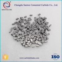 Buy cheap tungsten carbide saw tips for circular blades from wholesalers
