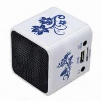 Buy cheap New Music Angle Mini Portable Speaker Player, SD/TF Card Slot for PC iPod MP3 Player from wholesalers