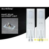 Buy cheap All In One Solar Street Light With Mono Silicon Solar Panel Smart MPPT Controller from wholesalers