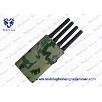 Buy cheap Camouflage Cover GPS Jammer 36W Power Consumption Cell Phone Blocking Device product